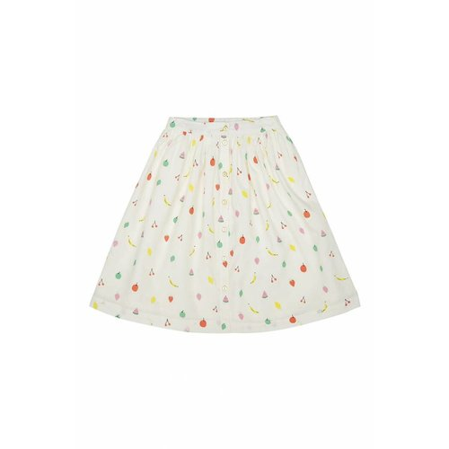 Soft Gallery Dixie Skirt AOP Fruit Pristine - rok