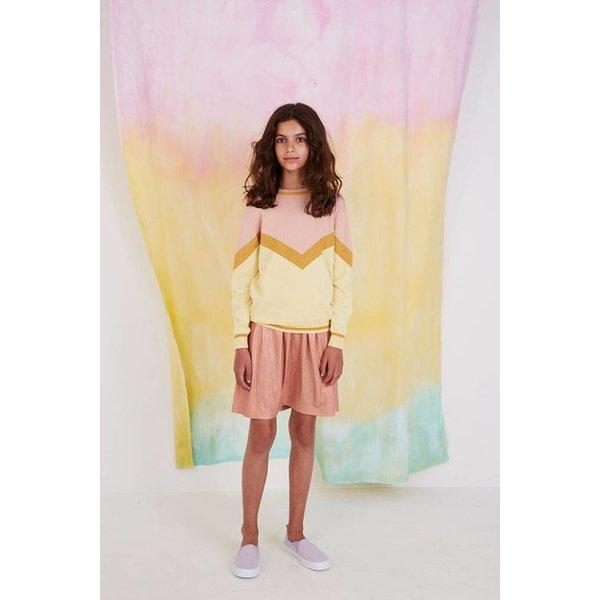Dizzy Skirt Rosegold - rok