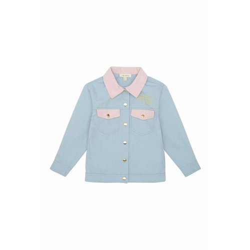 Soft Gallery Bayou Jacket Lucky Cloud Blue