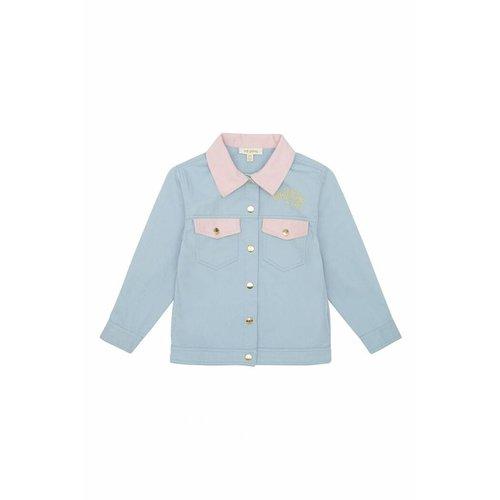 Soft Gallery Bayou Jacket Lucky Cloud Blue