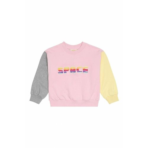 Soft Gallery Drew Sweatshirt Space Parfait Pink - trui