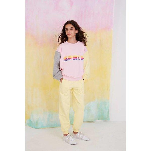 Drew Sweatshirt Space Parfait Pink