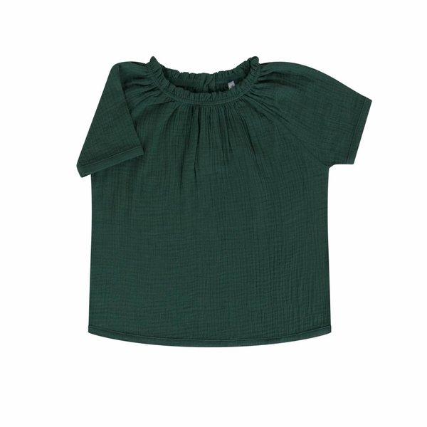 Pretty Python Short Sleeve Blouse