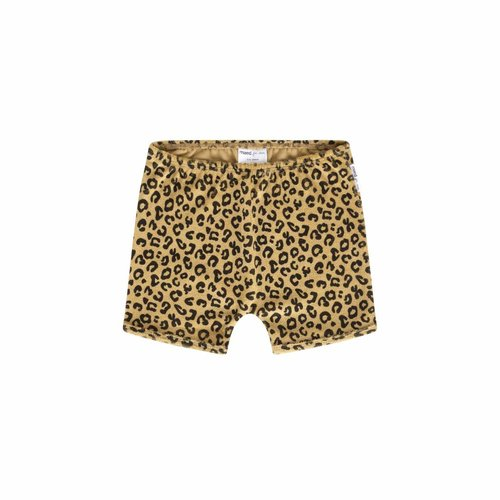 Maed for Mini Yellow Leopard Short