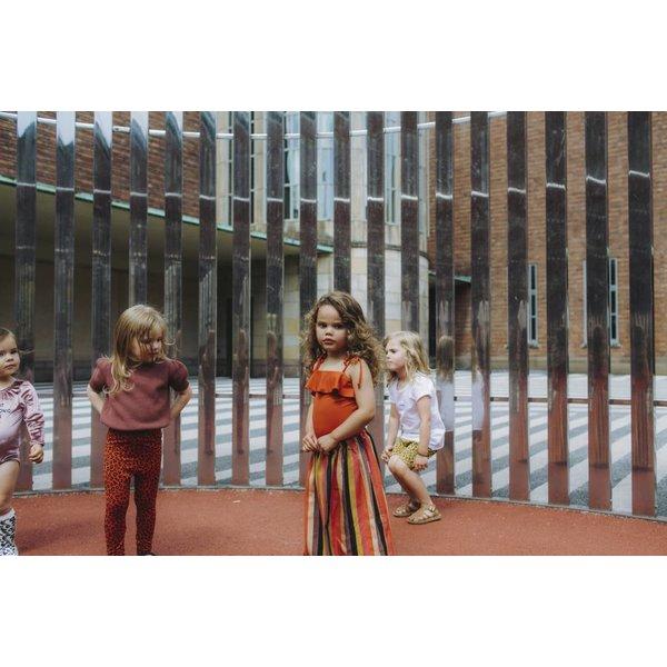 Rainbow Racoon skirt long - rok