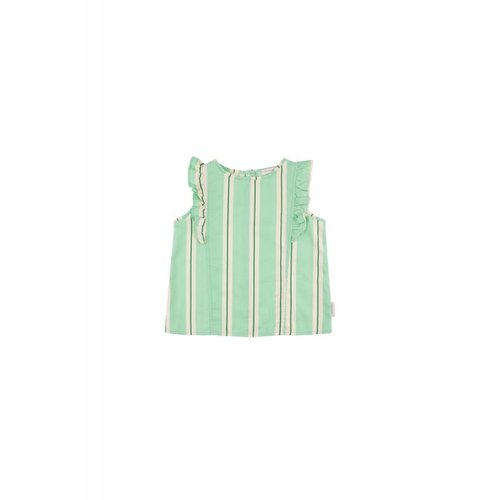 Tinycottons Retro Stripes Ruffles Blouse