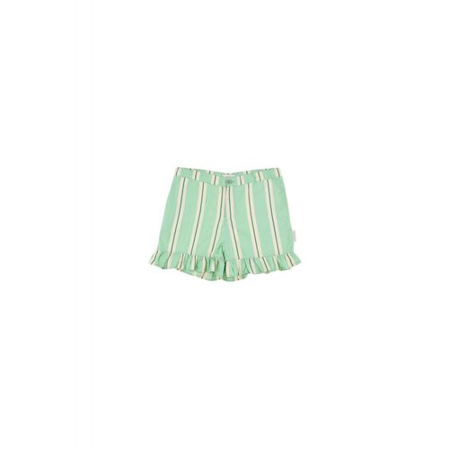 Tinycottons Retro Stripes Frill Short - korte broek