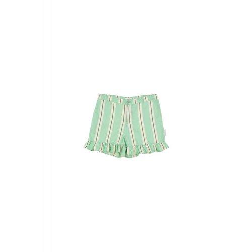 Tinycottons Retro Stripes Frill Short