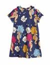 Seahorse Collar SS Dress - jurk