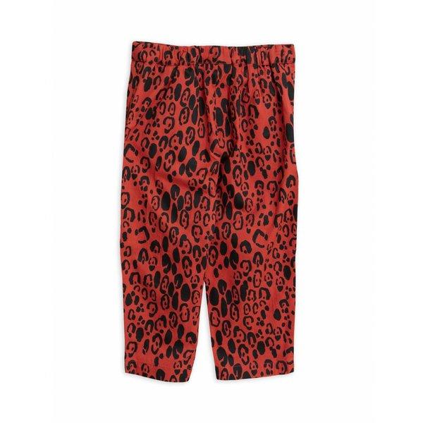 Leopard Woven trousers
