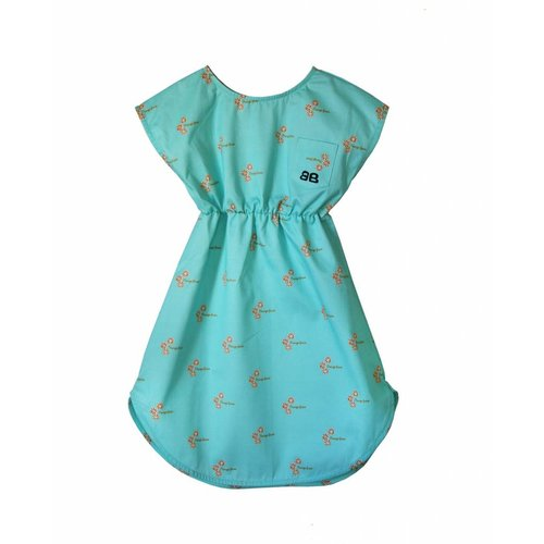 Bandy Button Boro Dress - jurk