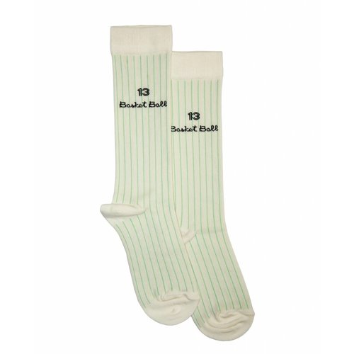Bandy Button Ami High Socks
