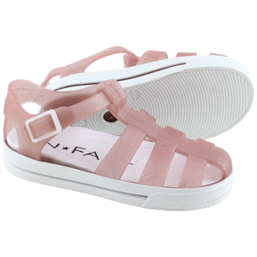 En Fant Waterschoenen rose gold - sandalen