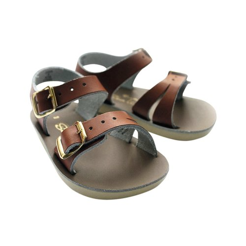 Salt-Water Sandals Sea Wee Tan Sandals