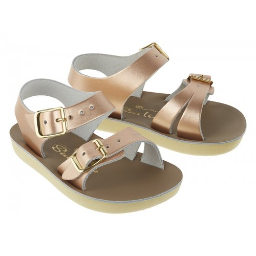 Salt-Water Sandals Sea Wee Rose Gold Sandals