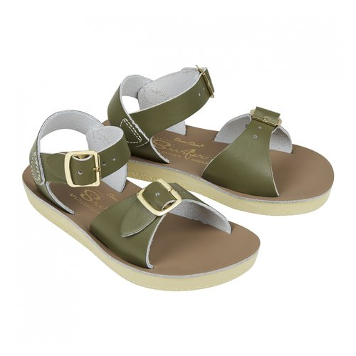 Salt-Water Sandals Surfer Olive Sandals