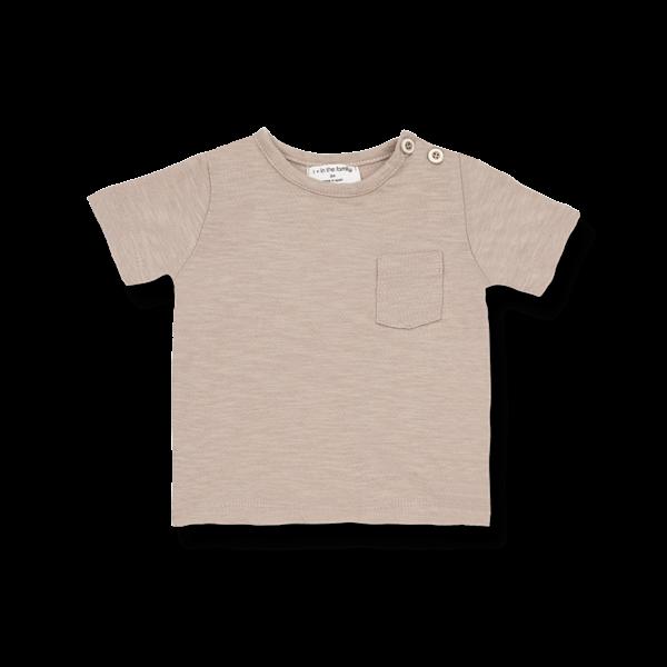 Domenico T-shirt Argila