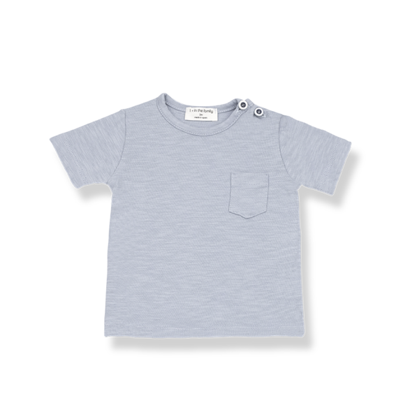 Domenico T-shirt Light Blue