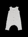 Piet Overall off white/black