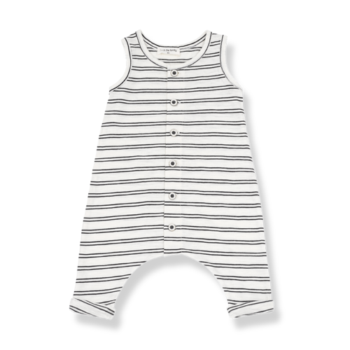 1+ in the Family Piet Overall off white/black