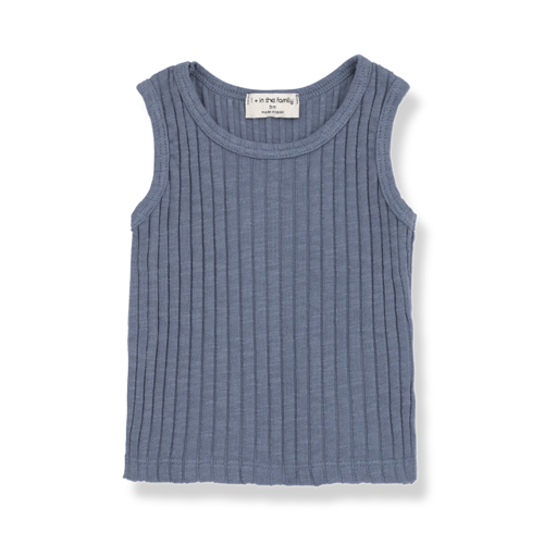 1+ in the Family Lea Tank Top Indigo