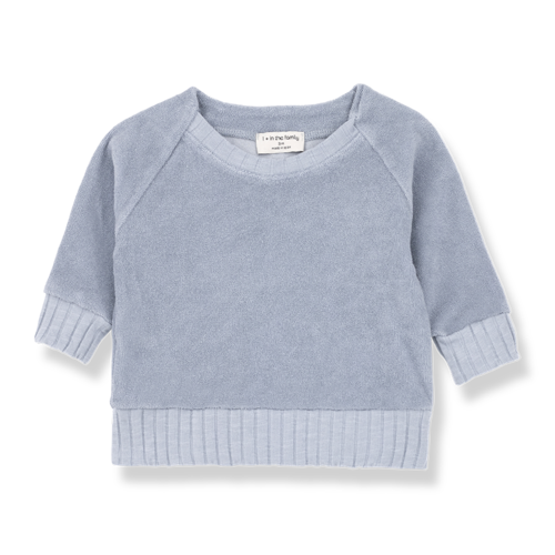 1+ in the Family Etienne Sweatshirt Light Blue