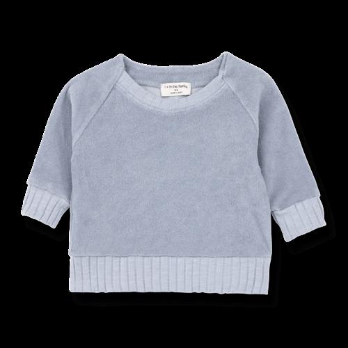 1+ in the Family Etienne Sweatshirt Light Blue