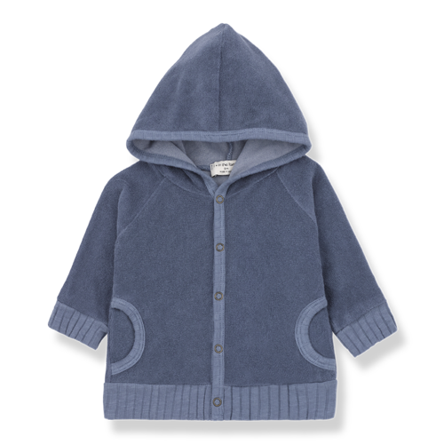 1+ in the Family Milou Hood Jacket Indigo