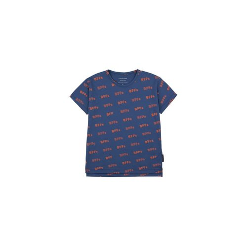 Tinycottons BFFs SS Tee Light Navy