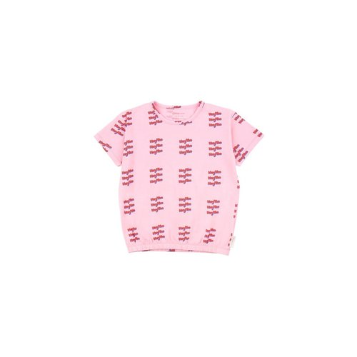 Tinycottons HEY YOU SS Tee Pink