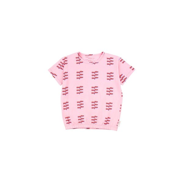 HEY YOU SS Tee Pink