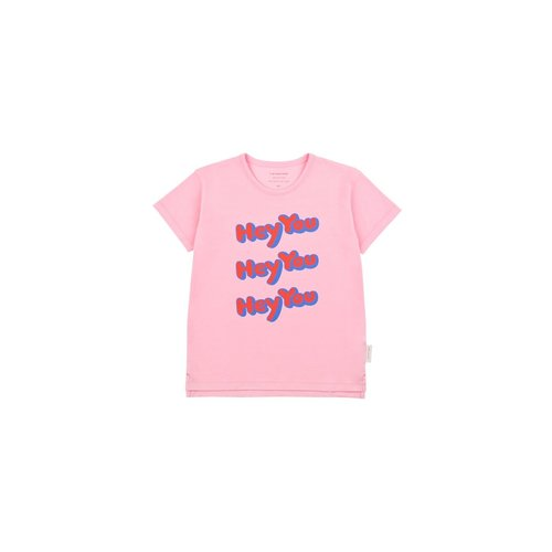 Tinycottons HEY YOU SS Tee Pink/Red