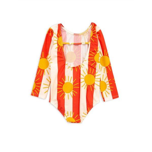 Sun stripe ls swimsuit