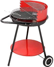 BBQ collection Verrijdbare stalen barbecue