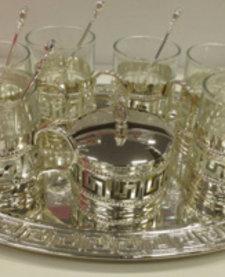 6 kişilik çay seti