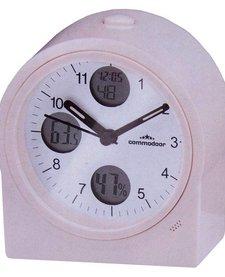 Tafelklok thermo / hydro, radiogestuurd