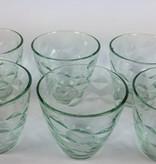 Flora verde glazen (6 stuks)