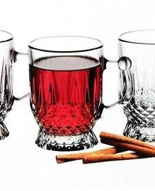 glazen 'Coffee mugs & cups (6 stuks)