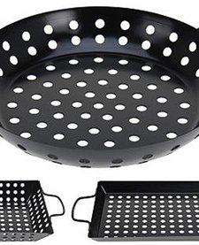 Barbecue grillschalen set