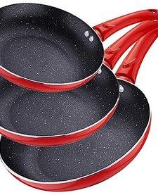 Koekenpannenset rood