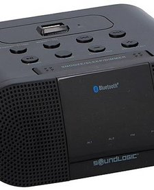 Draadloze Wekkerradio met ingebouwde 1A USB-oplaadpoort
