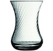 Paşabahçe 6-delige theeglazen set (optikli)