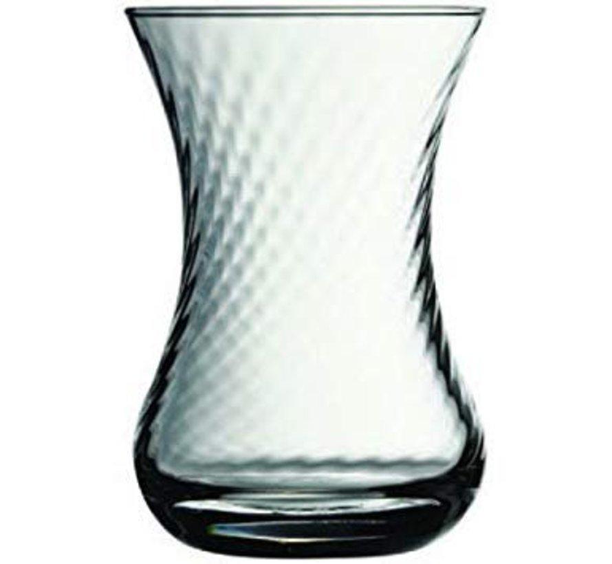 6-delige theeglazen set (optikli)