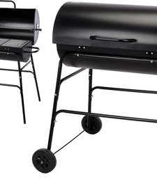 Houtskool barbecue cilindervorm XL