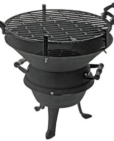 Gietijzeren tafel-barbecue