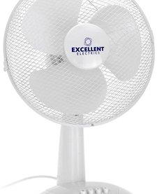 Ventilator tafelmodel wit 30cm