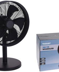 Tafelventilator - 30cm - zwart