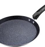 Renberg Pannenkoekpan 24cm zwart