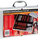 BBQ Collection 16-delig Barbecuebestek RVS in koffer