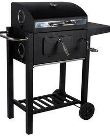 Luxe Barbecue met zijtafel